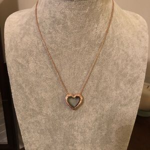 Rose Gold Origami Owl Winged heart locket